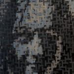 """""""Leire I"""". Oli sobre contraplacat. 92 x 65 cm. 2001."""
