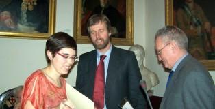 Mariona Mateu, Eusebio Güell i Antoni Esquerra-T.
