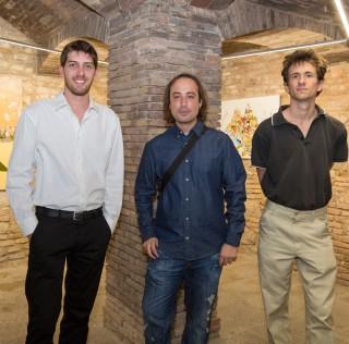 Inauguració exposició becaris 2015 al Palau Güell