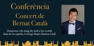 Bernat Català Rams (beca música 2017)