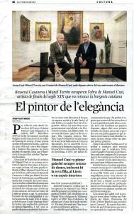 Rossend Casanova. La Vanguardia 11.12.2019